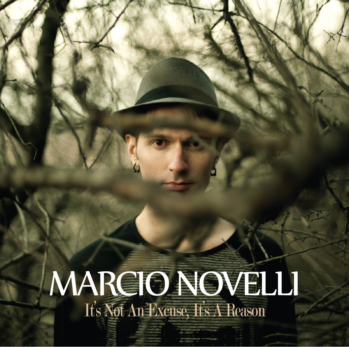 Marcio Novelli - It's Not An Excuse, It's A Reason (Album Cover)